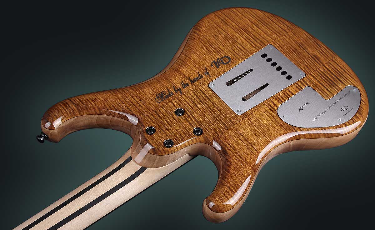 Personalized Handmade Electric Guitar