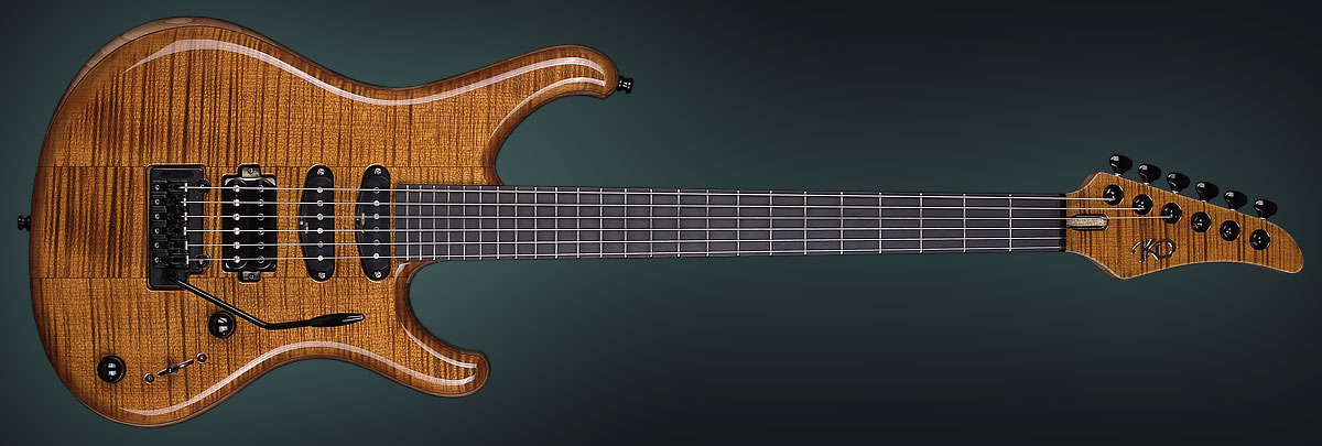 Personalized Guitar Aurora by KD
