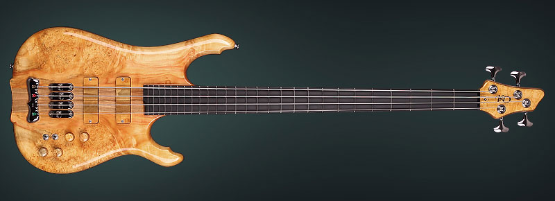 Boutique Bass, handmade by luthier KD