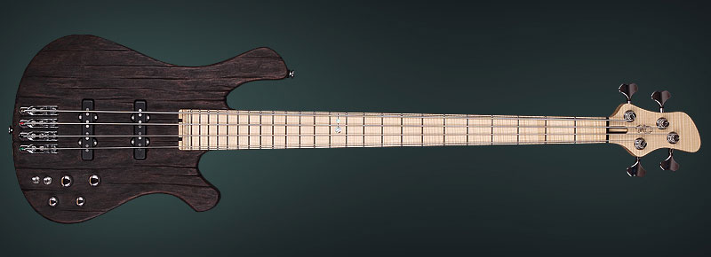 Handmade exotic bass by KD