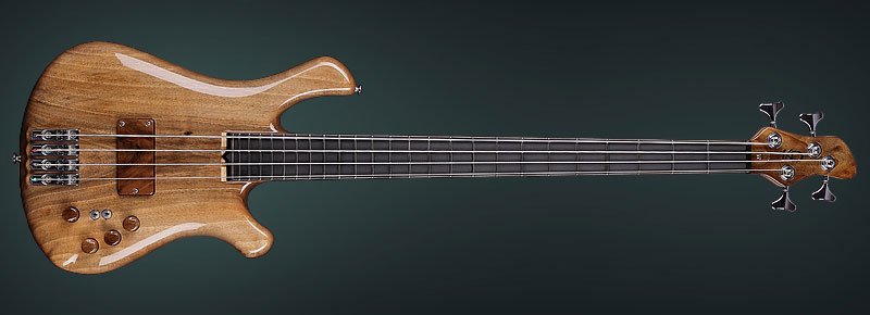 set neck bass