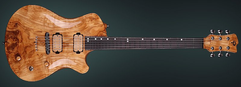 "Electric guitar Pandora II, Archtop Guitar ""Pandora II"" - Custom Archtop Guitar Builder"