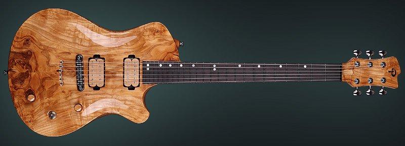 Electric guitar Pandora II, Archtop Guitar