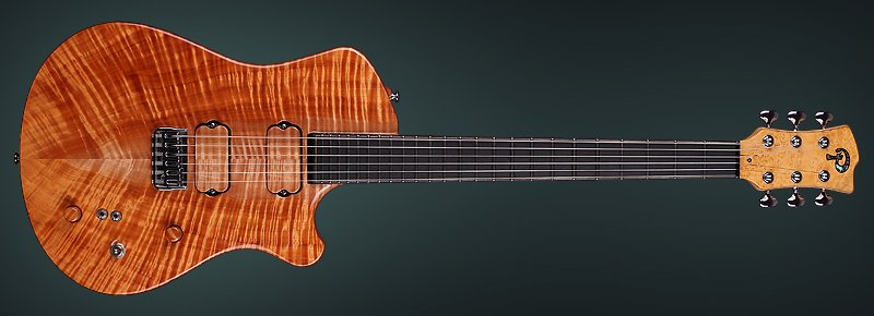 "Exotic Guitar ""Pandora"" Single Cut - Made by KDbasses"