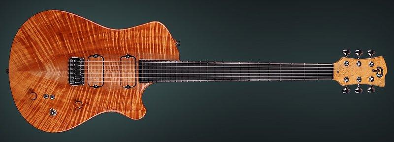 """Exotic Guitar """"Pandora"""" Single Cut - Made by KDbasses"""