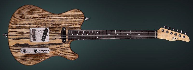 Solid Body Guitar Model