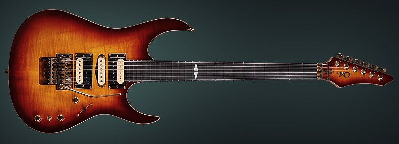 "Luthier Guitar ""The Wiseman"" - Made by the hands of KD"