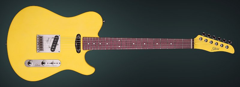 "The ""Silvia"" telestyle guitar"