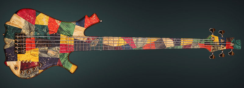 """Picasso"" 5-str. unique bass"