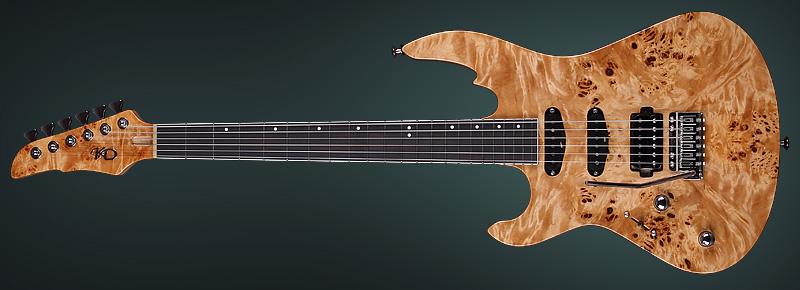 Lefty Electric Guitar Turbulence